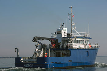 Burger Boat - USGS Great Lakes Fisheries Vessel