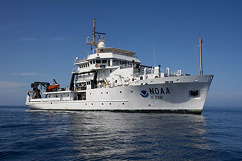 ational Oceanic and Atmospheric Administration Fisheries Survey Vessel
